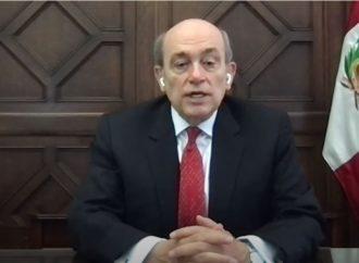 Mensaje del Embajador del Perú en los Estados Unidos